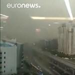 Akkora homokvihar volt Indiában, hogy százan belehaltak - videó