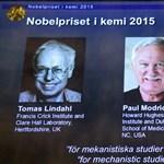 Hárman kaptak kémiai Nobel-díjat a DNS-javító kutatásokért