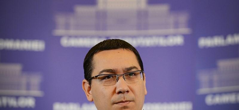Ponta talán vissza se tér a román lapok szerint
