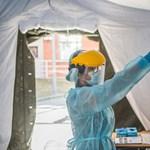 A Honvédkórház Podmaniczky utcai épülete előtt is lesz koronavírust vizsgáló sátor