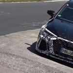 450 lóerős lehet az új Audi RS3? - Videó