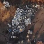Drónnal szálltak az illegális szemétégető fölé Kaposváron