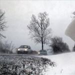 Itt vannak az újabb útinfók, Borsodban vannak még lezárt utak