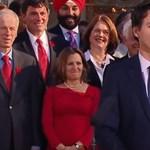 Egy rasszista gesztus kezdte ki Justin Trudeau hírnevét