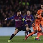 Bajnokok Ligája: a Barcelona és a Liverpool is negyeddöntős