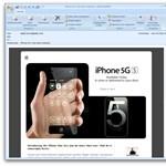 Kártékony iPhone 5 emailek