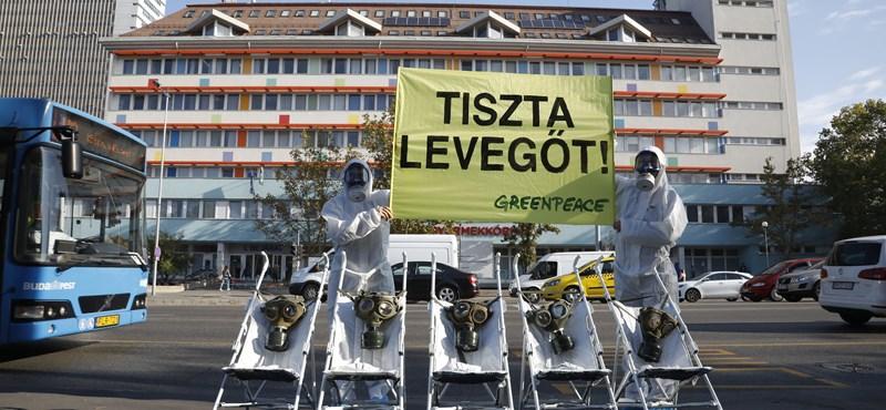 Levelet küldött Orbánnak a klímaügy miatt a Greenpeace