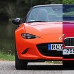 Merjünk kicsit álmodni: Z4-es BMW-ket eresztettünk össze egy spéci Mazda MX-5-tel