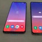 Kiszivárgott fotók mutatják meg, tényleg ilyen lesz a Samsung Galaxy S10 és S10+
