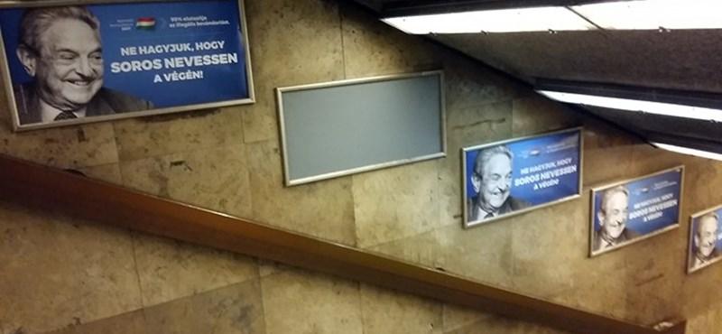 Ajjaj, sorminta hibát találtunk a Soros-plakáterdőben