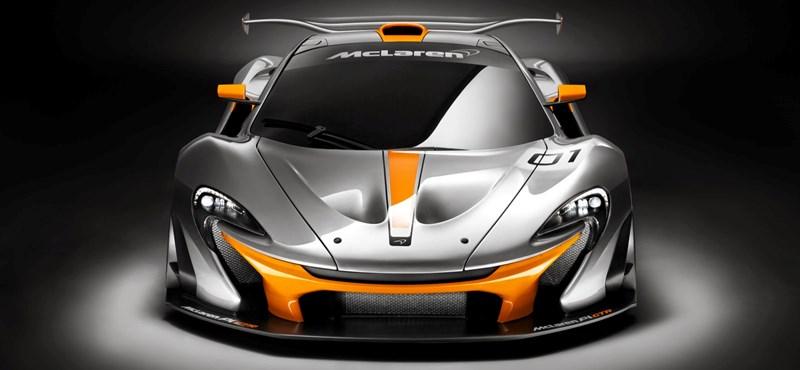A legjobb pályaautónak szánja a McLaren az ezer lóerős P1 GTR-t
