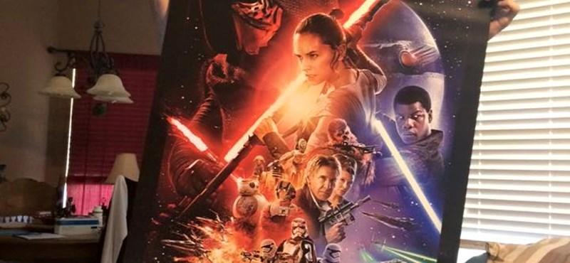 Valóra vált az álom, a haldokló rajongó megnézhette az új Star Warst