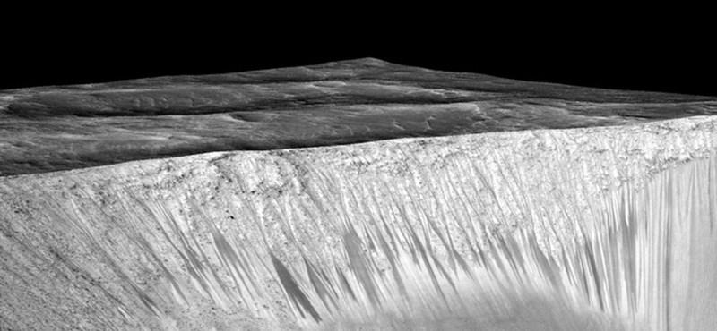 Megszülethetett a magyarázat a rejtélyes Mars-barázdákra
