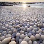Ritka természeti jelenséget fotóztak a finn tengerparton