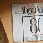 Üzentek a népszabisok a Magyar Nemzet munkatársainak