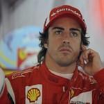 Alonso elégedett magával a Ferrarinál