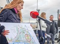 Baranyi Krisztina elmondta, milyen feltételekkel támogatja az atlétikai stadion építését
