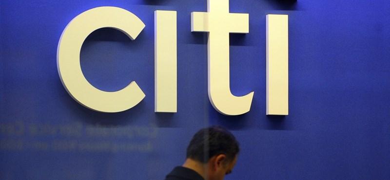 Index: kitolt néhány ügyfelével a Citibank