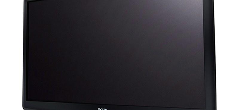 """Új 27""""-os 3D-s FHD LED monitor érkezett az Acertől!"""