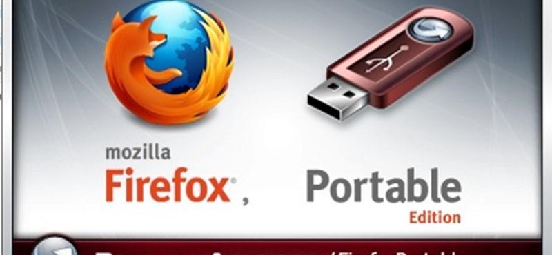 Firefox 5: hordozható változat Windowsra és letölthető Androidos verzió