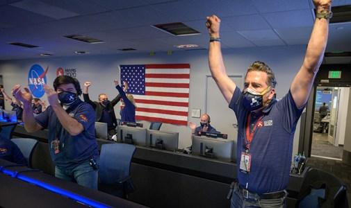 Odaért a Marsra a Perseverance, ismét történelmet írt a NASA