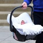 Íme az első képek az újszülött királyi babáról