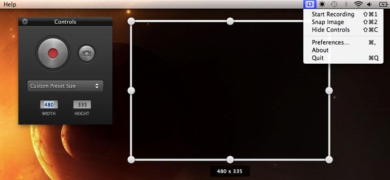 Ingyen letölthető a Screeny a Mac App Store-ból