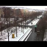 Vízágyúzás hóban: oszlató attak balos tüntetők ellen - videó
