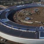 Videó: 6 hónapig készült ez a drónfelvétel az Apple új főhadiszállásáról, de megérte