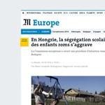 Nyíregyházáról jelentkezett be a Le Monde