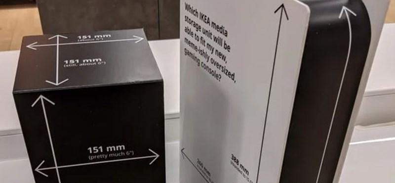 Kartonkonzolokkal segíti a PS5 és az új Xbox vásárlóit az IKEA