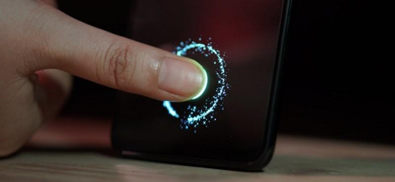 Hasznos fejlesztés: az olcsóbb telefonokba is jöhet a kijelző alatti ujjlenyomat-olvasó