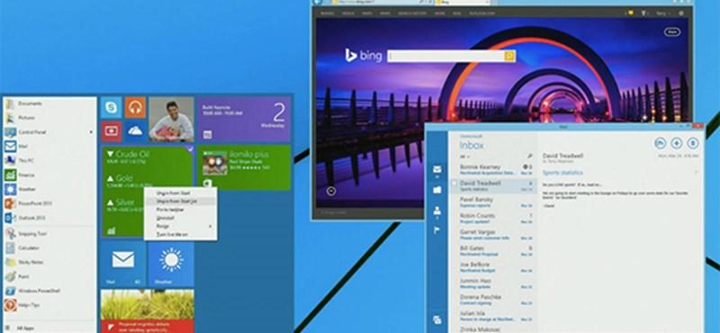 Párat még aludhat addig: 4 hónap múlva jön az új windowsos Start menü