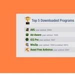 Minden idők legnépszerűbb, letölthető szoftverei