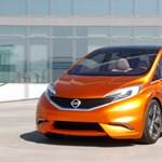 Nissan csapotthátú a Focus és a Golf ellen?