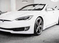 Az eddigi legszebb kabriót csinálták az olaszok a Tesla Model S-ből