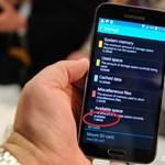 Most akkor mennyi is a tárhely a Galaxy S5-ben?
