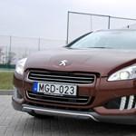 Peugeot 508 RXH-teszt: presztizshibrid francia módra