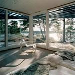 Különleges szögek, napfény, fantasztikus panoráma - svéd tengerparti ház