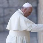 Fotó: Ferenc pápa kedvéért kiürítették a Siratófal előtti teret