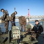 A héten végre kiemelik a Dunából a tavaly ősszel talált bombákat, kiürítik a területet