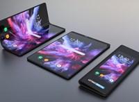 Csináltak egy képet, ami elég meggyőzően néz ki a Samsung összehajtható telefonja