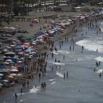 Mint a pokol: 45 fokot mértek Portugáliában, és a java még csak most jön