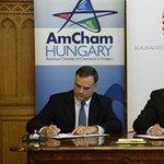 A kitiltási botrányról inkább nem beszéltek az AmCham és az IM találkozóján