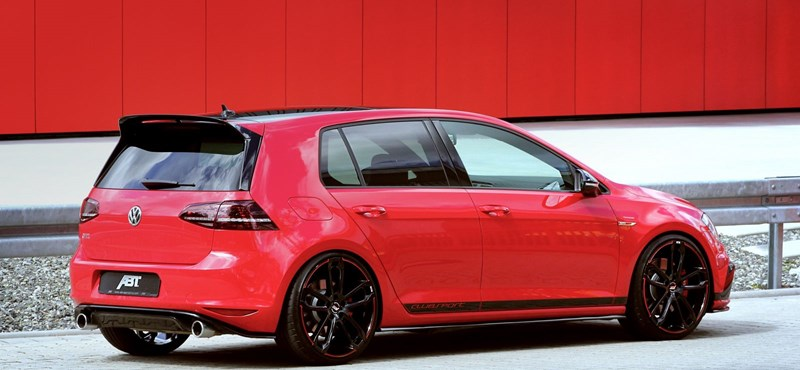 Az ABT révén mostantól 340 lóerős Golf GTI-it is lehet venni