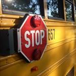 A sofőr mentette ki a gyerekeket az égő iskolabuszból: videó