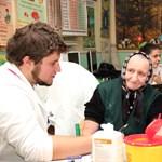 Rászorulókat vizsgáltak magyar orvoshallgatók Kárpátalján