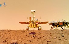 Szelfit küldött a kínai Mars-járó