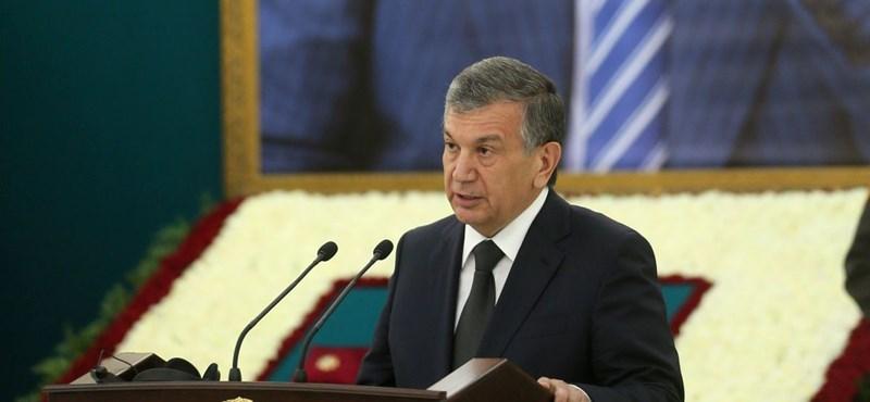 Az ideiglenes elnök az esélyes a győzelemre az üzbég elnökválasztáson