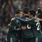 Real Madrid fieszta Amszterdamban